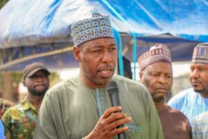Military Disappointing In Borno Despite Support Given To Them, Says Governor Zulum