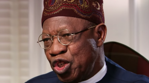 Nigeria's Attorney General Malami Made It Clear Anyone Including Adeboye, Others Would Face Prosecution For Violating Twitter Ban—Lai Mohammed