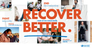 Recover Better – Stand Up for Human Rights – The Advocates Post