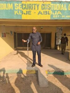 Former PDP Spokesman, Metuh Released From Kuje Prison