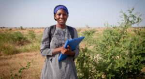 FROM THE FIELD: The microscopic creatures helping build Africa's Great Green Wall