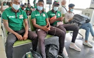 CHAN: The Zambian national team arrives Cameroon
