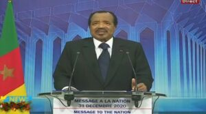 Biya's end of year speech: What he said in 140 words.