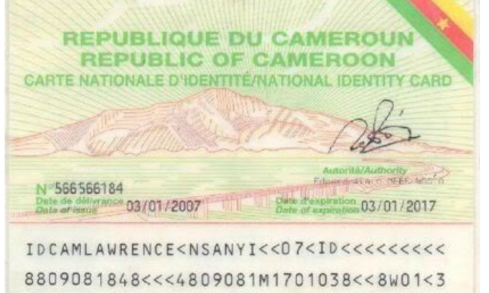Cameroon: DGSN issues whatsap Numbers to help Cameroonians track status of  ID cards