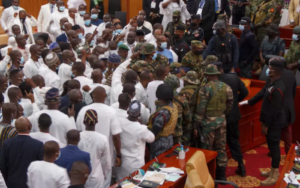 Ghana Army Stops Parliament Clash Ahead Of Swearing-In