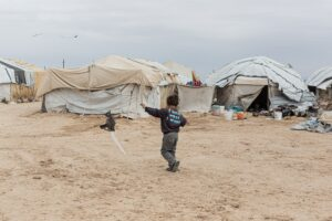 Thousands of Foreigners Unlawfully Held in NE Syria