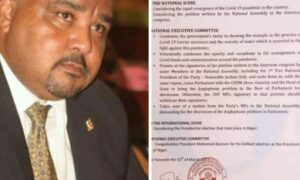 Letter to US Congress: SDF's NEC vomits Osih