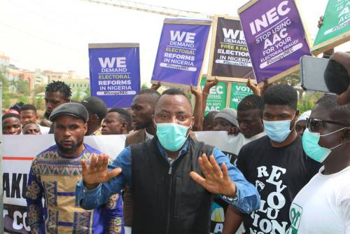How INEC, Lawyer Forged Documents To Push Out Sowore As AAC Chairman