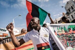 Use Fighter Jets To Kill Terrorists, Bandits In North, Not Innocent People In Benue, Akwa Ibom —IPOB Tells Nigerian Military