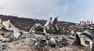 Read more about the article Thousands in Goma evacuated amid fears of further volcanic eruption |