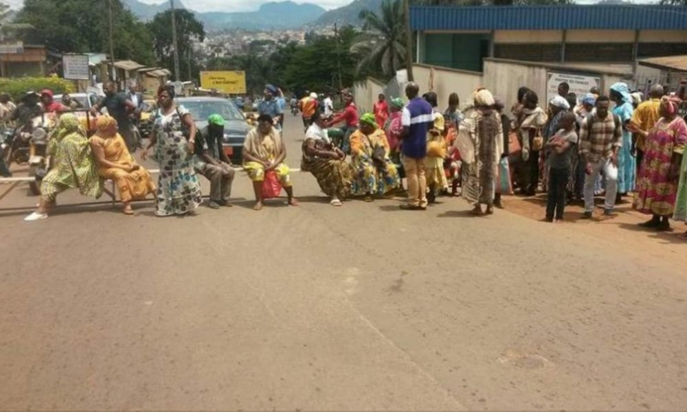 Read more about the article Retired Civil Servants Block the Road in Biya's Hometown.