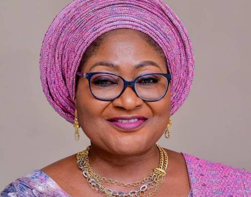 Wife Of Osun Governor, Oyetola Who Owes Pensions, Spends Millions Of Naira To Organise Prayer Against Insecurity