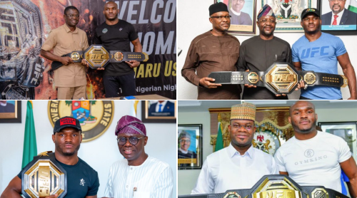 Sowore Lambasts UFC Star, Usman, For Posing With Nigerian Leaders He Knocked During EndSARS Killings